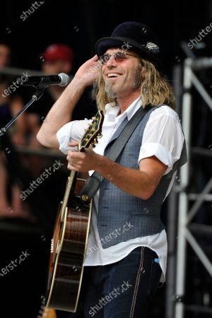 Big Kenny performs during day two of Country Thunder in Twin Lakes, Wisconsin