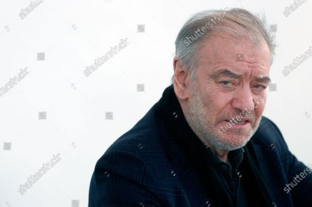 Russian orchestra conductor Valery Gergiev presents his upcoming Spanish tour in Valencia, Spain, 19 January 2021. Gergiev returns to lead his Mariinsky Symphony Orchestra in different musical events in Valencia, Madrid, Barcelona and Girona.