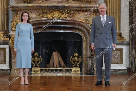Moldovan President Maia Sandu visits Belgium, Brussels