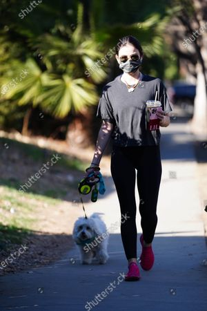 Editorial picture of Lucy Hale out and about, Los Angeles, USA - 18 Jan 2021