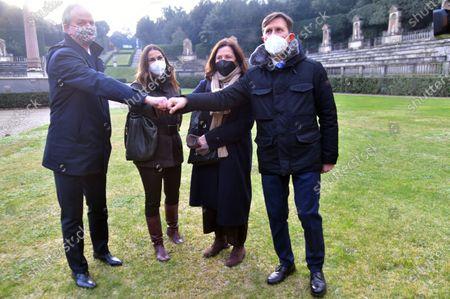 Editorial photo of Boboli Gardens Reopening in Florence, Italy - 19 Jan 2021