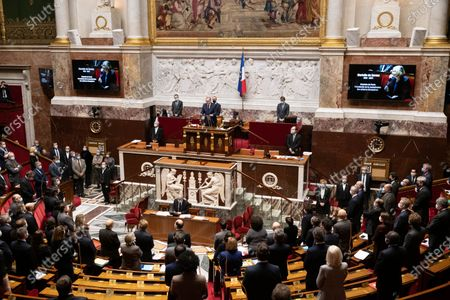 Tribute to Marielle de Sarnez during the weekly session of questions to the government at the French National Assembly.