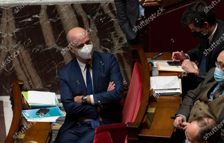 French Education, Youth and Sports Minister Jean-Michel Blanquer during the weekly session of questions to the government at the French National Assembly.