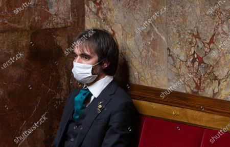 Cedric Villani during the weekly session of questions to the government at the French National Assembly.