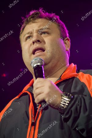 Frank Caliendo performs at the Allstate Arena in Rosemont, IL.