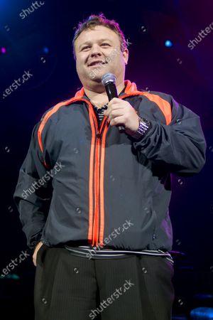Editorial photo of Frank Caliendo in concert, Allstate Arena, Rosemont, Illinois, USA - 10 Dec 2009