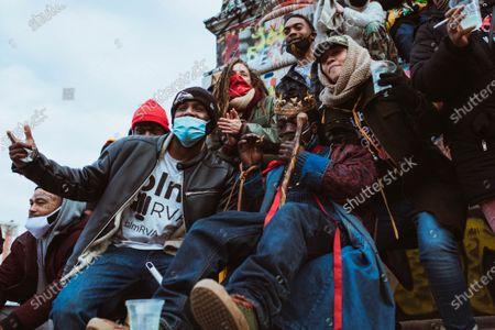 Editorial photo of 2nd amendment protest, Richmond, Virginia, USA - 18 Jan 2021