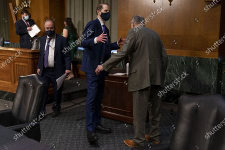Editorial photo of Senate Finance Committee Hearing for Janet Yellen, Washington, DC, USA - 19 Jan 2021