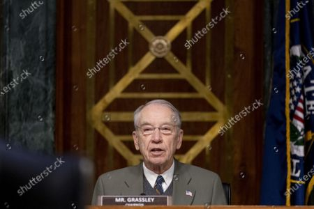 Chairman Sen. Chuck Grassley, R-Iowa, speaks during a Senate Finance Committee hearing to examine the expected nomination of Janet Yellen to be Secretary of the Treasury on Capitol Hill in Washington