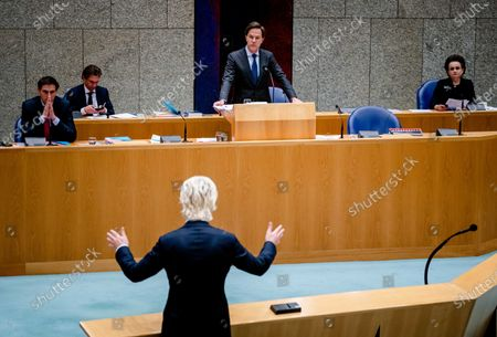 Editorial picture of House of Representatives, The Hague, Netherlands - 19 Jan 2021