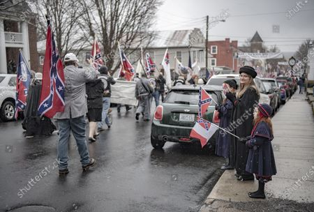 Editorial picture of Lee-Jackson Day Parade, Lexington, Virginia, USA - 16 Jan 2021