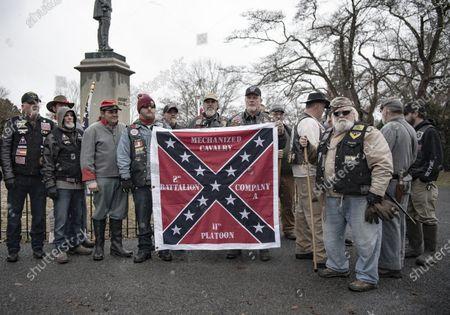 Editorial image of Lee-Jackson Day Parade, Lexington, Virginia, USA - 16 Jan 2021