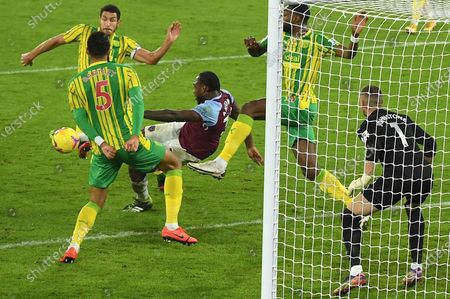 Editorial photo of West Ham United vs West Bromwich Albion, London, United Kingdom - 19 Jan 2021