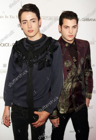 **FILE PHOTO** July 17, 2014: Harry Brant, Peter Brant at the Sony Pictures Classics and Dolce & Gabbana present the New York premiere of Magic in the Moonlight at the Paris Theatre in New York.
