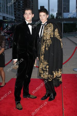**FILE PHOTO** NEW YORK, NY - SEPTEMBER 20: Peter Brant and Harry Brant at the New York City Ballet's  Annual Fall Gala at Lincoln Center in New York City. September 20, 2012.