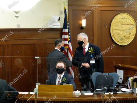 Editorial photo of Alaska Legislature, Juneau, United States - 19 Jan 2021