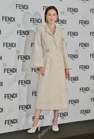 Editorial photo of Ryoko Yonekura becomes FENDI Japan new brand ambassdor, Tokyo, Japan - 19 Jan 2021