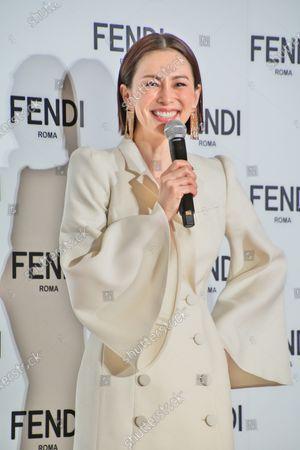 Editorial picture of Ryoko Yonekura becomes FENDI Japan new brand ambassdor, Tokyo, Japan - 19 Jan 2021