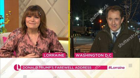 Lorraine Kelly and Richard Gaisford