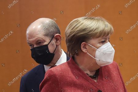 Editorial image of German government Cabinet meeting, Chancellery, Berlin, Germany - 20 Jan 2021