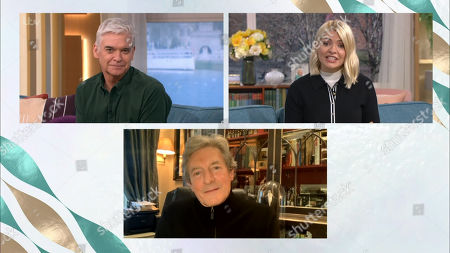 Phillip Schofield, Holly Willoughby and Nigel Havers