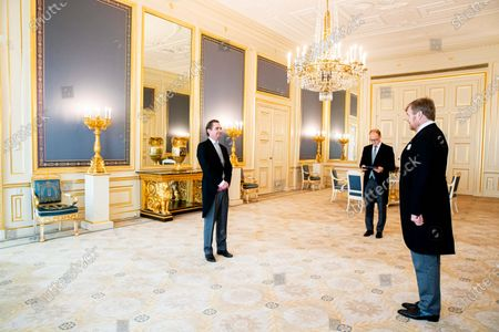 Audience with King Willem-Alexander, Noordeinde Palace, The Hague