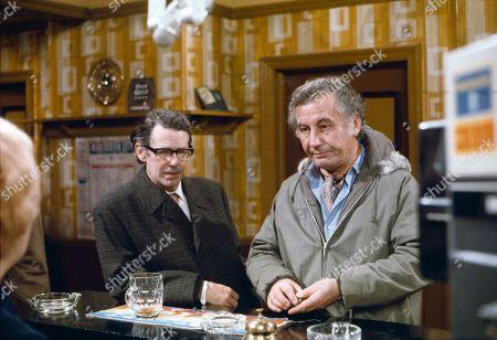 Stephen Hancock (as Ernest Bishop) and Alan Browning (as Alan Howard)