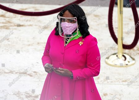 Rep. Terri Sewell of Alabama before the inauguration of Joe Biden as US President in Washington, DC, USA, 20 January 2021. Biden won the 03 November 2020 election to become the 46th President of the United States of America.