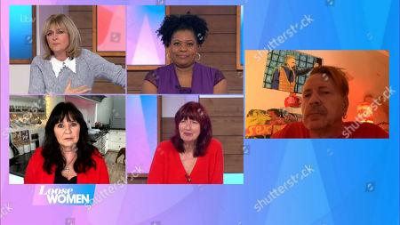 Jane Moore, Brenda Edwards, Coleen Nolan, Janet Street-Porter and John Lydon