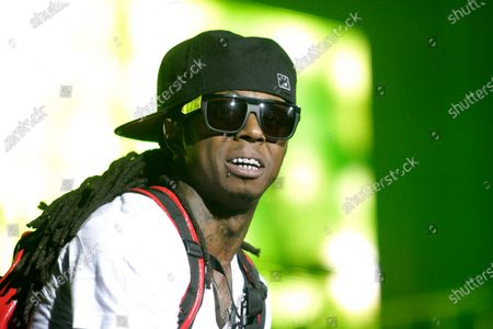Image taken on 28 Dec 2008. Lil Wayne in performance during the I am Music Tour at the Susquehanna Bank Center in Camden New Jersey