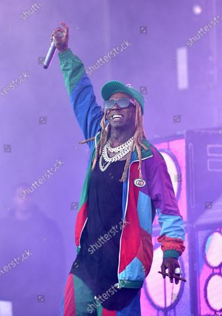 Editorial image of Trump Grants Clemency To Lil Wayne And Kodak Black, San Francisco, USA - 20 Jan 2021