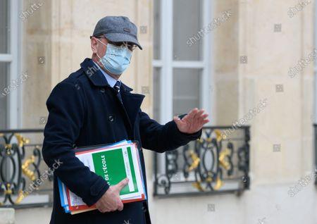 Editorial image of Weekly cabinet meeting at Elysee Palace, Paris, France - 20 Jan 2021