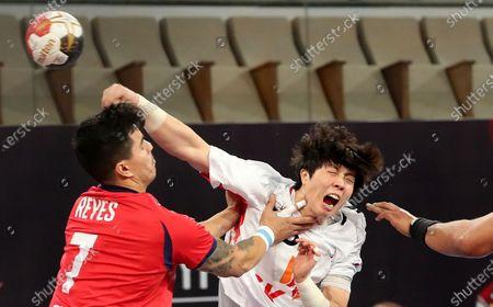 Editorial picture of Men Handball World Championship 2021, Cairo, Egypt - 20 Jan 2021
