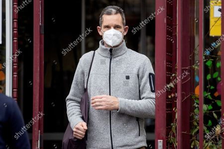 Inaki Urdangarin, husband of Spanish Infanta Elena and brother in law of King Felipe VI, leaves the Don Orione Center where he volunteers after being vaccinated against coronavirus COVID-19 in Alarcon, Madrid, Spain, 20 January 2021. A judge has granted Urdangarin the third degree imprisonment regime after he entered prison on 18 June 2018 to serve a five year and 10 months sentence after being found guilty for several charges of corruption and tax offenses.