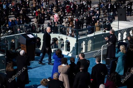 Editorial image of Biden Sworn-in as 46th President of the United States, Washington, District of Columbia, USA - 20 Jan 2021