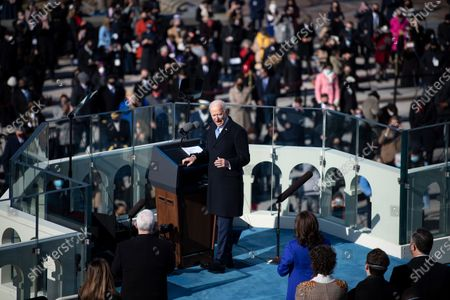 Editorial picture of Biden Sworn-in as 46th President of the United States, Washington, District of Columbia, USA - 20 Jan 2021