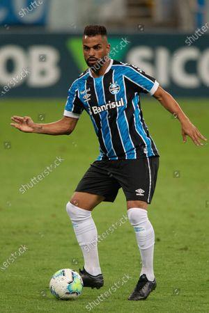 Maicon of Gremio; Arena de Gremio, Porto Alegre, Brazil; Brazilian Serie A football, Gremio versus Atletico Mineiro.