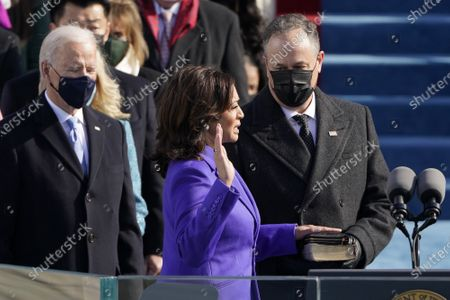 Editorial image of 59th Presidential Inauguration in Washington DC, USA - 20 Jan 2021