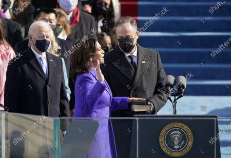 Editorial photo of 59th Presidential Inauguration in Washington DC, USA - 20 Jan 2021