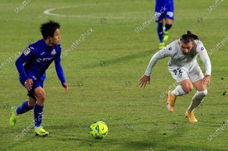 Editorial image of Getafe CF vs Huesca SD, Getafe Madrid, Spain - 20 Jan 2021