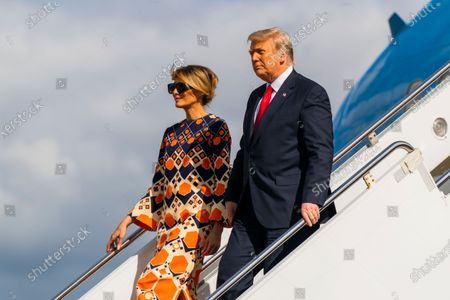 Editorial picture of Trump, West Palm Beach, United States - 20 Jan 2021