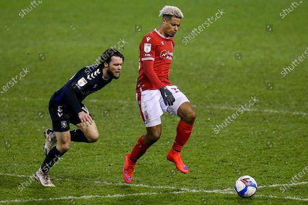 Editorial photo of Nottingham Forest v Middlesbrough, UK - 20 Jan 2021