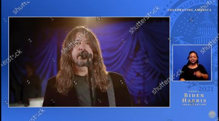 Stock Picture of Dave Grohl, Foo Fighters'