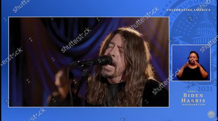 Stock Photo of Dave Grohl, Foo Fighters'