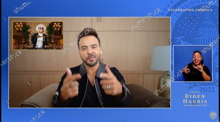 Stock Picture of DJ Cassidy, Luis Fonsi