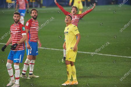 Editorial photo of Soccer: LaLiga - Villarreal v Granada, Vila-Real, Castellon, Spain - 20 Jan 2021