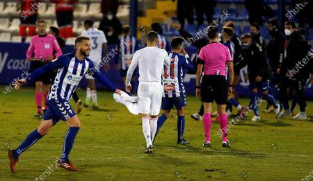 Editorial picture of Alcoyano - Real Madrid, Alcoy Alicante, Spain - 20 Jan 2021
