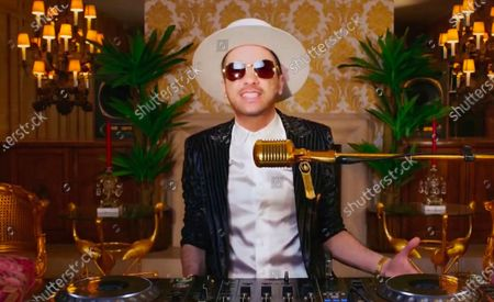 In this image from video, DJ Cassidy performs during the Celebrating America event, following the inauguration of Joe Biden as the 46th president of the United States