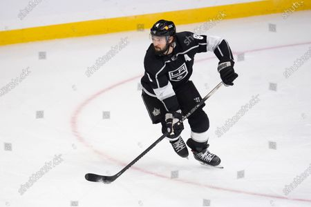 Los Angeles Kings defenseman Drew Doughty in the third period of an NHL hockey game against the Los Angeles Kings, in Los Angeles