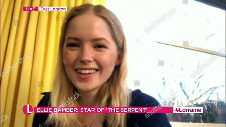 Stock Picture of Ellie Bamber